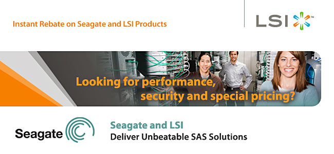 Seagate and LSI Bundle