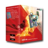 AMD CPU A6-Series X3 3500 (2.10GHz,3MB,65W,FM1) Box, Radeon TM HD 6530D