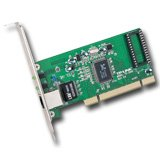 NIC TP-Link TG-3269, 32bit Gigabit PCI Network Adapter, RealTek RTL8169SC, 10/100/1000Mbps RJ45 port, Auto MDI/MDX