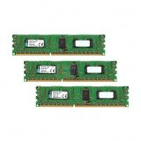 Kingston DRAM 12GB 1600MHz DDR3 ECC Reg CL11 DIMM (Kit of 3) 1Rx8 Intel, EAN: 740617228908
