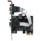 Serial PCI Express Card, 2 Ports, x1 Lane