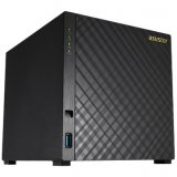 ASUSTOR 1004T 4-Bay NAS, Marvell ARMADA-385, 512MB DDR3, RAID 0/1/5/6/10/JBOD+single disk, GbE x 1, 2x USB 3.0, WoL, System Sleep Mode