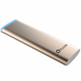 Plextor EX1 Portable 256GB SSD Read/Write: 550 MB/s / 500 MB/s, USB 3.1(Gen 2, 10Gbps), 3.0, 2.0