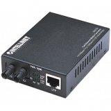 IntellinetFast Ethernet Media Converter, 10/100Base-TX to 100Base-FX (ST) Multi-Mode, 2 km (1.24 mi)