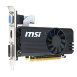 MSI Video Card GeForce GT 730 GDDR5 1GB/64bit, 1006MHz/5000MHz, PCI-E 2.0 x16, HDMI,DVI, VGA, Cooler, Retail