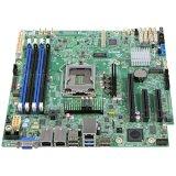 Intel Server MotherBoard DBS1200SPL (E3-1200v5, Socket-1151, C236, uATX, 4xDDR4 UDIMM, 3x PCIe 3.0 slots, 1x M.2 2242 slot, 2xGbE, 8xSATA, 4xUSB, Display port, SW RAID, mez & RMM4lite options), retail