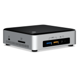 Intel NUC kit, i3-6100U, 2x DDR4 1866MHz 1.2V SODIMM (max 32GB), M.2 SSD 6Gbps (42/80mm), Intel 4K HD Graphics 520 (mDP + HDMI), SDXC UHS-I slot, 7.1 Audio, (2+2)xUSB 3.0, 1xLAN GbE, IR frontpanel, WiFi+TB, Intel Clear Video, Intel Wireless Display