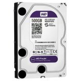 HDD AV WD Purple (3.5', 0.5TB, 64MB, RPM IntelliPower, SATA 6 Gb/s)