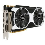 MSI Video Card GeForce GTX 980 GDDR5 4GB/256bit, 1178MHz/7010MHz, PCI-E 3.0 x16, 3xDP, HDMI, DVI-I, Armor 2X Cooler (Double Slot), Retail