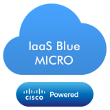 Blue Micro -Virtual Server based on Microsoft Cloud Platform,with following specifications: 1 x vCPU, 0.75GB of RAM,20GB Bronze Storage Disk,LINUX OS,coverage period: 1month