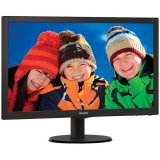 Monitor LED Philips 223V5LSB/00, V-line, 21.5' 1920x1080@60Hz, 16:9, TN, 5ms, 250nits, Black, 3 Years, VESA100x100/VGA/DVI/