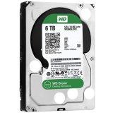 HDD Desktop WD Green (3.5', 6TB, 64MB, RPM IntelliPower, SATA 6 Gb/s)