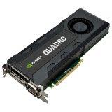NVIDIA Video Card Quadro  K5200 8 GB GDDR5/256-bit, DVI-I (1), DVI-D (1) DP 1.2 (2), Optional Stereo (1)/Dual Slot/3 pin Stereo/Multi-Display Synchronization