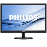Monitor LED PHILIPS V-Line 223V5LHSB/00 (21.5', TN, 16.9, 1920x1080, 5ms, 10M:1, 250 cd/m2, VGA, HDMI, VESA) Black