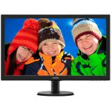Monitor LED PHILIPS V-Line 273V5LHAB/00 (27', TN, 16.9, 1920x1080, 5ms, 10M:1, 300 cd/m2, VGA, DVI, HDMI, Speakers, VESA) Black