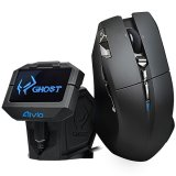 GIGABYTE Mouse AIVIA URANIUM (Wireless, Twin-eye Laser, 6500 DPI) Matt Black, Retail