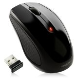 GIGABYTE Mouse M7580 (Wireless, Optical, 1600 DPI) Shiny Black, Retail
