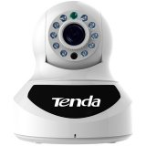 Tenda HD PTZ IP Camera. 720P HD plus IRCUT, Night vision(10m distance) . P2P remote view, support WI-FI , PTZ:Horizontal: 355°,Vertical: 120° PTZ control.Motion detection,  Email alert or sound alert.