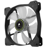 Corsair The Air Series SP 140 LED High Static Pressure Fan Cooling, Green, Dual Pack