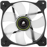 Corsair The Air Series SP 120 LED High Static Pressure Fan Cooling, Green, Dual Pack