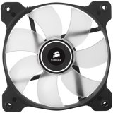 Corsair The Air Series SP 120 LED High Static Pressure Fan Cooling, White, Dual Pack