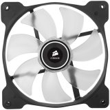 Corsair The Air Series SP 140 LED High Static Pressure Fan Cooling, White, Dual Pack