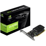 NVIDIA Video Card Quadro P620 GDDR5 2GB/128bit, 512 CUDA Cores, PCI-E 3.0 x16, 4xminiDP, Cooler, Single Slot, Low Profile (4xmDP-DP Cables, Full Size and Low Profile Bracket incuded)