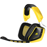 Corsair Gaming VOID Wireless, Dolby 7.1 Wireless RGB Gaming Headset Black, 2.4GHz Wireless, 16.8 million colors RGB Lighting, CUE Control (EU Version)