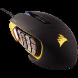 Corsair Gaming Scimitar RGB MOBA/MMO PC Gaming Mouse, Optical, up to 12000 dpi, Key Slider Mechanical Buttons, 4 Zone RGB (EU version)