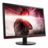AOC Monitor LED G2460VQ6 Gaming (24.0'', 16:9, 1920x1080, TFT-LCD, 250 cd/m², 1000:1, 80M:1, 1 ms, 170/160°, VGA, DP, HDMI, Speakers, Tilt: -5/+20°) Black, 3y