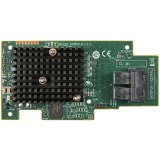 Intel Integrated RAID Module RMS3HC080, Single, 12Gb/s, 8 internal port SAS/SATA mezzanine card, LSI 3008, PCIe 3.0, RAID levels 0/1/10/5, and JBOD mode