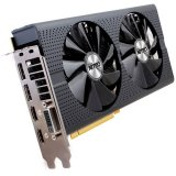 SAPPHIRE Video Card AMD Radeon RX 480 NITRO+ GDDR5 4GB/256bit, 1306MHz/1750MHz, PCI-E 3.0 x16, HDMI, 2xDVI, 2xDP, Dual-X Cooler RGB (Double Slot), Lite Retail