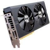 SAPPHIRE Video Card AMD Radeon RX 480 NITRO+ GDDR5 8GB/256bit, 1306MHz/2000MHz, PCI-E 3.0 x16, HDMI, 2xDVI, 2xDP, Dual-X Cooler RGB(Double Slot), Lite Retail