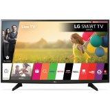 LG TV LED 49''(124cm) FHD (1920x1080), Smart TV webOS 3.0, 450PMI, WLAN, HDMIx2, USB 2.0 x1, DVBT-T2,C,S2, 20W, Black, 2Y