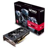 SAPPHIRE Video Card AMD Radeon NITRO RX 480 4G GDDR5 PCI-E DUAL HDMI / DVI-D / DUAL DP OC W/BP (UEFI)