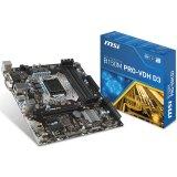 MSI Main Board Desktop B250 (S1151,4xDDR4,1xPCI-Ex16,2xPCI-Ex1, USB3.0,SATA III,DVI,HDMI,GLAN) mATX Retail