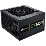 CORSAIR Power Supply, Builder Series CX 80+ Bronze, 600 Watt, ATX, EPS12V, PS/2, EU Version