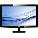 Monitor LED PHILIPS V-Line 203V5LSB26/10 (19.5', TN, 16.9, 1600x900, 5ms, 10M:1, 200 cd/m2, VGA, VESA) Black