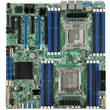 MB Server 2xSocket R INTEL (16 x DDR3 SDRAM,Shared Video Memory,4xGigabit Ethernet/Fast Ethernet/Ethernet,RAID/SATA II/SATA III), Oem
