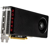 XFX Video Card AMD Radeon RX 480 TUNED BY XFX CUSTOM BACKPLATE XXX OC 1288 MHZ 8GB D5 HDMI 3xDP