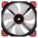 Corsair ML140 Pro LED, Red, 140mm Premium Magnetic Levitation Fan