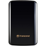 TRANSCEND USB HDD, StoreJet 25D3, 1TB, USB3.0, HDD suspension, Quick Reconnect Button, Black, 3 yrs