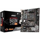 MSI Main Board Desktop B450 (SAM4, 2xDDR4, 1xPCI-Ex16, 1xPCI-Ex1,6 x USB3.2, 6 x USB2.0, 4xSATA III, M.2, DVI-D, HDMI, GLAN) mATX Retail