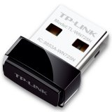 NIC TP-Link TL-WN725N, USB 2.0 Nano Adapter, 2,4GHz Wireless N 150 Mbps, Internal Antenna, Miniature design 18.6x15x7.1mm