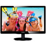 Monitor LED PHILIPS V-Line 226V4LAB/00 (21.5', TN, 16.9, 1920x1080, 5ms, 10M:1, 250 cd/m2, VGA, DVI, Speakers, VESA) Black