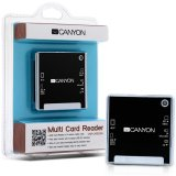 CANYON CNR-CARD05N Card Reader 6 in 1 (CF/MS/MS PRO/MMC/SD/xD-Picture/MS PRO-HG Duo), USB 2.0, Black