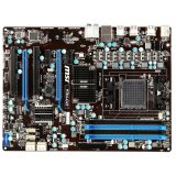 MSI Main Board Desktop AMD 970 (SAM3+,DDR3,SATA III,RAID,LAN,USB 2.0/3.0) ATX Box