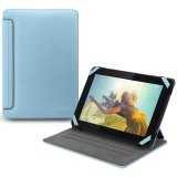 CANYON CNA-TCL0207BL Universal case with stand suitable for most 7'' tablets,convenient rotation design and different angle range for viewing(Color: Blue)