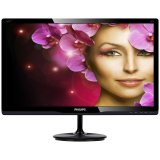 Monitor LED PHILIPS 247E4LHAB/00 (23.6', 1920x1080, LED Backlight, 1000:1, 20000000:1(DCR), 170/160, 2ms, 250cd/m2, HDMIx2/VGA/Audio Interface 2x2W, MM) Glossy Black