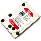 WD Red HDD Desktop (3.5', 4TB, 64MB, RPM IntelliPower, SATA 6 Gb/s)